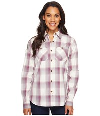 Carhartt Huron Shirt Vintage Violet Women's Short Sleeve Button Up Purple