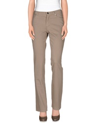 Antonio Fusco Casual Pants Dark Brown
