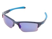 Oakley Quarter Jacket Youth Polished Navy W Red Iridium Sport Sunglasses Gray