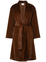 Vince Belted Faux Fur Coat 206Mgy