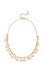 Jules Smith Designs Simple Medallion Necklace Gold