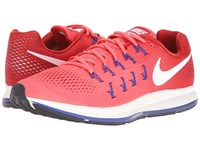 Nike Air Zoom Pegasus 33 Ember Glow Gym Red Loyal Blue White Men's Running Shoes Pink