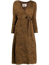 Jovonna Alix Dress Brown