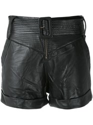 Andrea Bogosian Leather Shorts 60