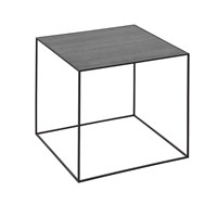 By Lassen Twin Table Black And Cool Grey Medium