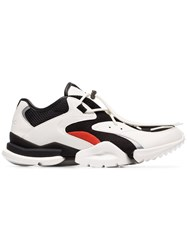 Reebok Black And White Run R96 Low Top Sneakers