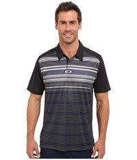 Oakley Legacy Polo Jet Black Men's Short Sleeve Pullover