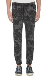 Nsf Men's Floral Sweatpants Black