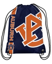 Forever Collectibles Auburn Tigers Big Logo Drawstring Bag Navy