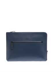 Lanvin Grained Leather Portfolio Pouch