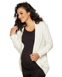 A Pea In The Pod Maternity Open Front Draped Cardigan