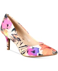 Alfani Women's Step 'N Flex Jeules Pumps Only At Macy's Women's Shoes Floral Print