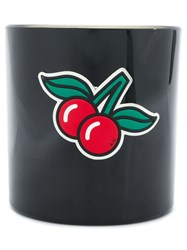 Anya Hindmarch Lip Balm Scented Candle Black