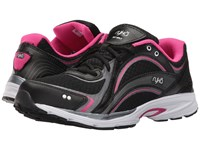 Ryka Sky Walk Black Meteorite Pink Women's Walking Shoes