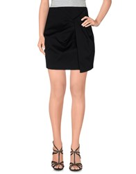 Cameo Skirts Knee Length Skirts Women Black