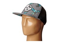 Vans Surf Patch Trucker Hat Dirty Bird Caps Blue