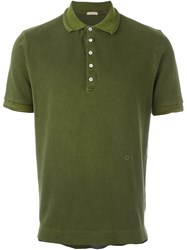 Massimo Alba Classic Polo Shirt Green