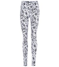 Varley Duncan Floral Leggings White