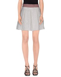 Denny Rose Skirts Mini Skirts Women White