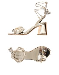Apepazza Sandals Platinum