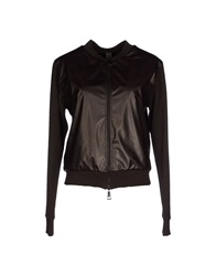 Jijil Jackets Dark Brown