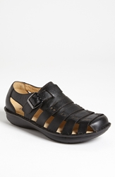 Alegria 'Martinique' Sandal Men Black Tumble
