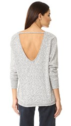 Bobi Heathered Sweater Grey