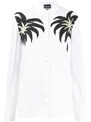 Boutique Moschino Palm Print Shirt 60
