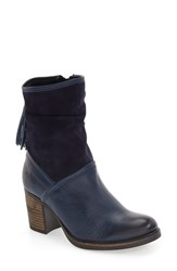 Bos. And Co. Women's 'Bailee' Waterproof Boot Royal Blue Deep Every Leather