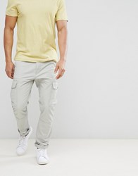 United Colors Of Benetton Cargo Trousers In Grey