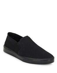 Calvin Klein Mesh Slip On Sneakers Black