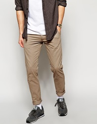 New Look Chinos In Skinny Fit Camel