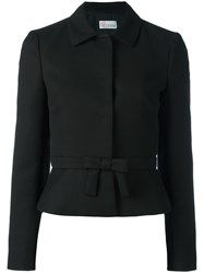 Red Valentino Bow Detail Jacket Black