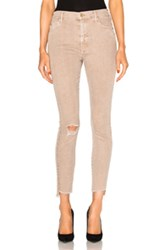 Mother Stunner Zip Ankle Step Fray In Neutrals