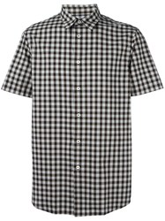 Paul Smith Ps By Checked Shortsleeved Shirt Black