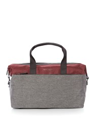Ted Baker Hamahed Nylon Holdall Red