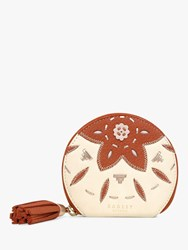 Radley Kempton Small Leather Market Purse Natural