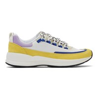 A.P.C. White And Yellow Brain Dead Edition Jay Sneakers