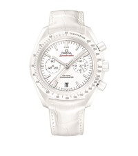 Omega Speedmaster White Side Of The Moon Chronograph Watch Unisex