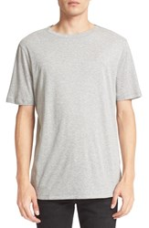 Helmut Lang Men's Brushed Jersey T Shirt Heather Gray