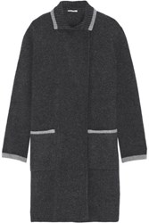 Tomas Maier Wool Coat Anthracite