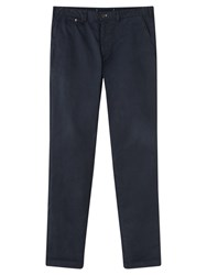 Jigsaw Slim Fit Trousers Navy