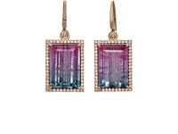 Irene Neuwirth Women's Tourmaline Drop Earrings No Color