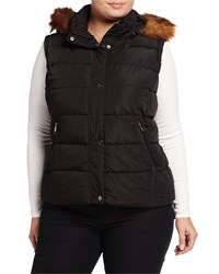 Marc New York By Andrew Marc Quilted Puffer Vest W Removable Faux