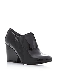 Robert Clergerie Trevor High Heel Oxford Pumps Black