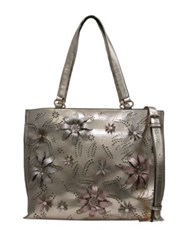 Chinese Laundry Hayley Floral Tote Taupe