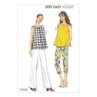 Vogue Women's Blouse And Trousers Sewing Pattern 9258