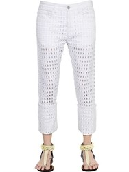 Isabel Marant Girlfriend Cutout Cotton Denim Jeans