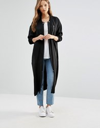 Minimum Moves Oversize Coat 999Black