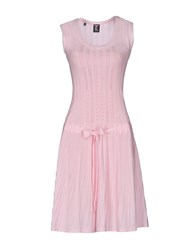Tricot Chic Short Dresses Pink